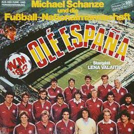 Michael-Schanze-und-die-Fussball-Nationalmannschaft-WM82_Ole-Espana-Das-Album